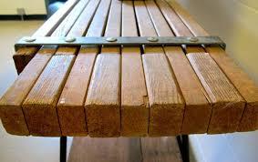 repurposed vine wooden scaffolding