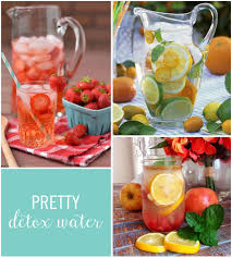 10 gorgeous detox waters and how they