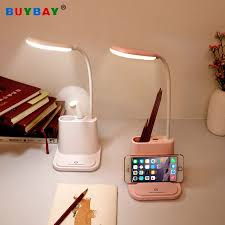 Led Desk Lamp With Fan Usb Rechargeable Touch Dimmable Table Lamp For Children Kids Reading Study Bedside Bedroom Living Room Desk Lamps Aliexpress