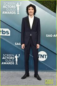 Noah Schnapp Steals The Show in a Shiny Suit at SAG Awards 2020 ...