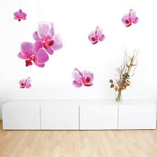 Style And Apply Pink Orchid Wall Decal Wayfair