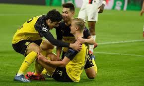 Borussia Dortmund-PSG 2-1 LIVE: super doppietta di Haaland ...
