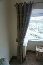 lovely red curtains from dunelm mill