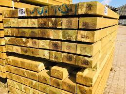 2 4m 2 7m X 100mm X 75mm 4 X 3 Treated Softwood Post Uc4 J Hubbard Son Ltd