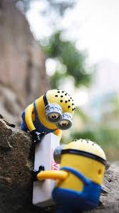 cute lovely minion toy iphone 8