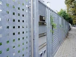 Square Hole Perforated Sheet To Secure Safety And Ventilation Perforated Metal Galvanized Metal Wall Building Exterior