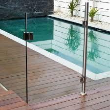 1200 X 900mm Gate Panel For Semi Frameless Glass Pool Fencing Glass Pool Fencing Pool Fence Fence Around Pool