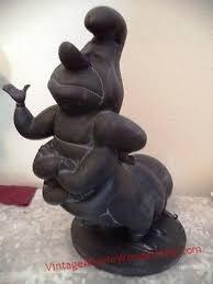 hookah caterpillar garden statue