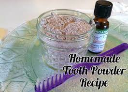 remineralizing tooth powder recipe