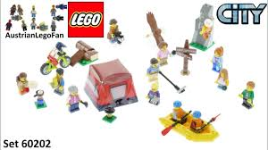 Lego City 60202 People Pack - Outdoor Adventures Speed Build - YouTube