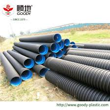 china hdpe double wall corrugated