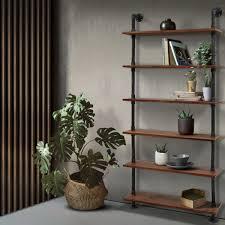 artiss wall shelves display bookshelf