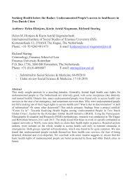 pdf seeking health below the radar undocumented people s access