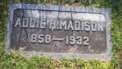 Addie Holmes Madison (1858-1932) - Find A Grave Memorial
