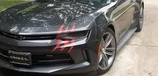 Monster Claw Rip Headlight Or Tail Light Decal Set