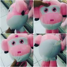 Boneka mainan anak tokoh kartun film SUPER WINGS pink & hijau SNI ...