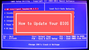 how to update the bios on your puter