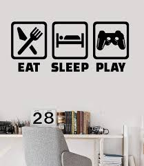 Vinyl Wall Decal Gaming Lifestyle Video Game Playroom Teen Room Sticke Wallstickers4you