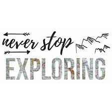 Roommates Never Stop Exploring Wall Decals Lowe S Canada Wall Decals Never Stop Exploring Explore Quotes