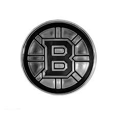 Chrome Auto Emblem Boston Bruins Pure Hockey Equipment