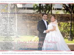 amore wedding package 185k affordable