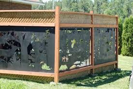Metal Fence Inserts Superior Metal Design