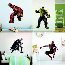 3d Avengers Marvel Thor Iron Man Hulk Wall Art Sticker Decal Kid Boys Room Decor For Sale Online Ebay