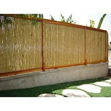 Backyard X Scapes Rolled Bamboo Privacy Screen Reviews Wayfair