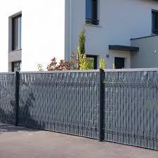 Garden Fence Lixo Finition Dirickx With Panels Pvc Modular