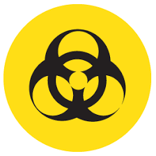 Biohazard Warning Sign Decal Dezign With A Z