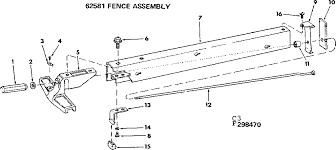 Craftsman 113299040 Table Saw Parts Sears Partsdirect
