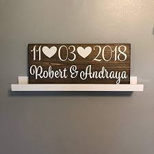 wall art stickers quotes and sayings wedding engagement date groom