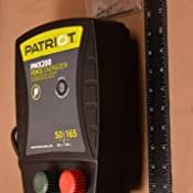 Amazon Com Patriot Pmx200 Electric Fence Energizer 2 0 Joule Pet Supplies