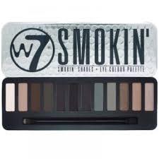 w7 smokin shades eye colour palette