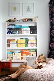 A Little Library Family Room Design Kids Library Kid Friendly Living Room