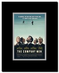 The Company Men Framed Movie Poster - Walmart.com - Walmart.com