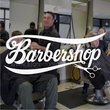Barbers Window Sticker Vinyl Lettering Decal