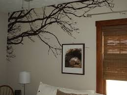 Innovative Stencils 1130 100 Inch X 44 Inch Tree Top Branches Wall Decal Vinyl Sticker Amadi Maria Dsa
