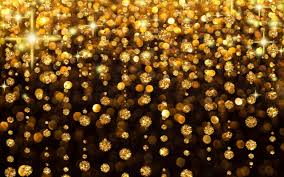 تحميل خلفيات الخلفية لامعة عطلة الذهب Glow المطر خلفية عريضة