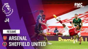 Résumé : Arsenal 2-1 Sheffield United - Premier League (J4) - YouTube