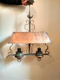 chandelier pendant lights hammered
