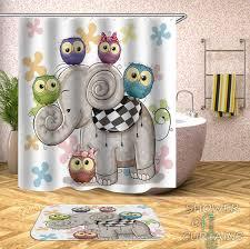 Children S Shower Curtains Shower Of Curtains