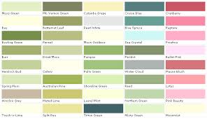 paint color chart house paint