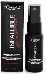 l oreal infallible pro spray set