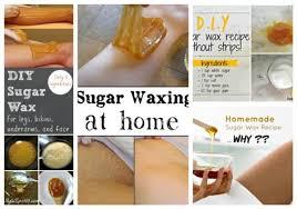 recipes for effective sugar wax