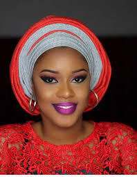 gele and makeup tutorial for owambe