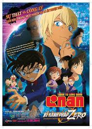 Thám tử lừng danh Conan: Kẻ hành pháp Zero' - Conan đối đầu gián ...