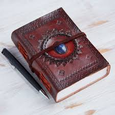 rustic leather journals indra med