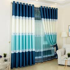 Color Block Modern Funky Custom Dining Room Curtains