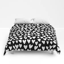 linocut printmaking hearts pattern